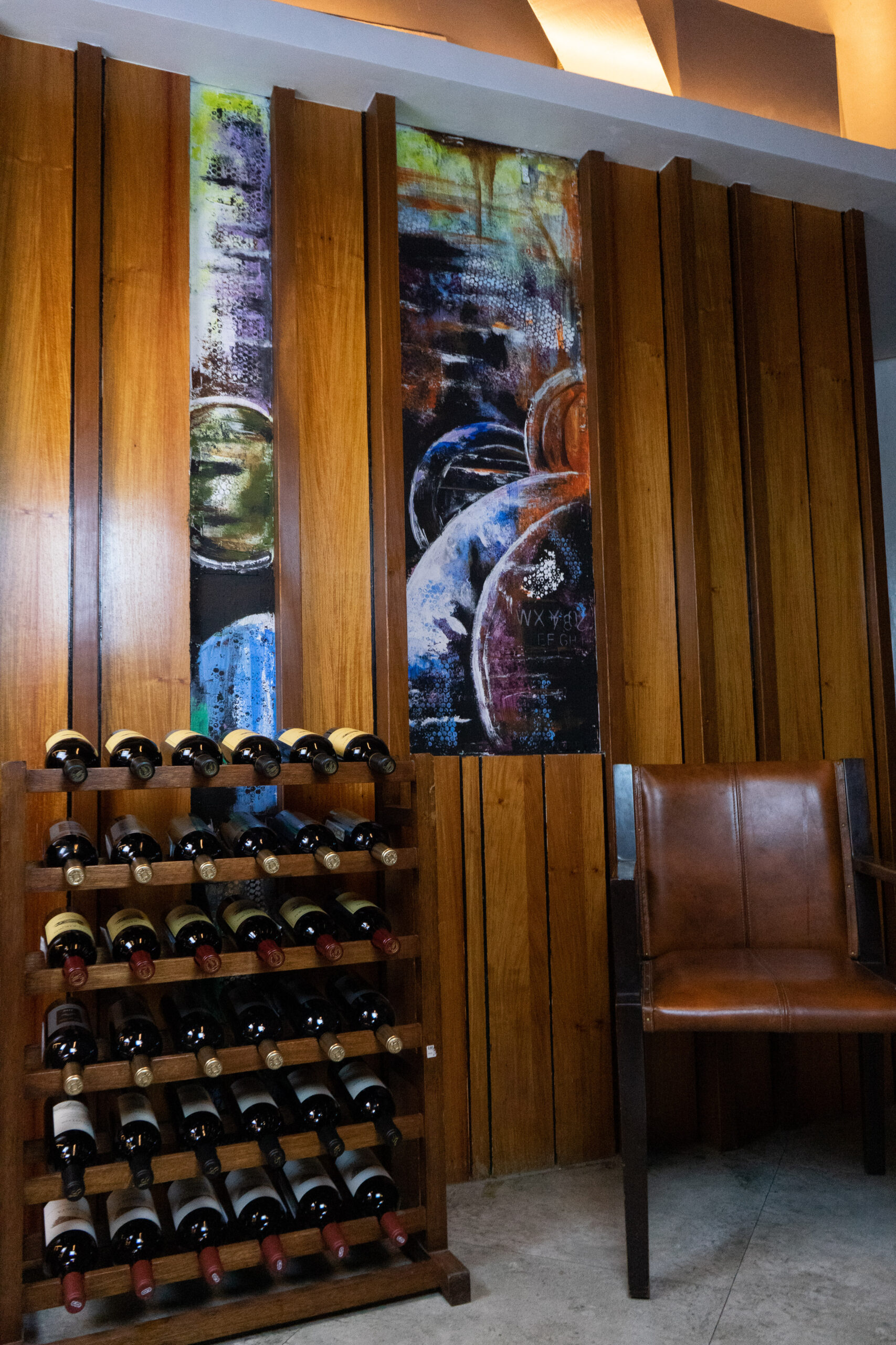 Different types of wines in the rack | The Wine Club Philippines