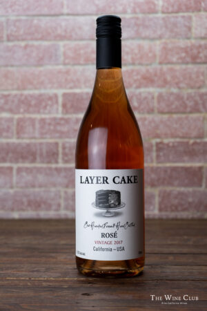 Layer Cake Rose of Pinot Noir & Syrah 2016   The Wine Club Philippines