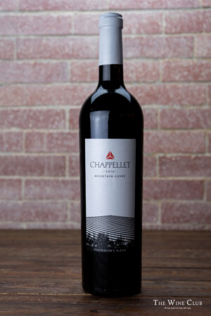 Chappellet Mountain Cuvee Red Blend 2016 | The Wine Club Philippines