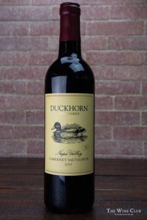 Duckhorn Cabernet Sauvignon 2017   The Wine Club Philippines